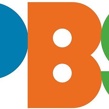 PBS-Retro-Logo von haff32