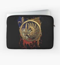 French Foreign Legion Para w Background Laptop Sleeve