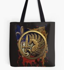 French Foreign Legion Para w Background Tote Bag