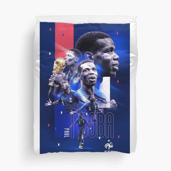 Paul Pogba Poster Duvet Cover