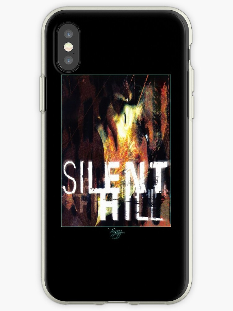 'Silent Hill 1 Old Version Box Cover Art' iPhone Case by Brazz Officiel