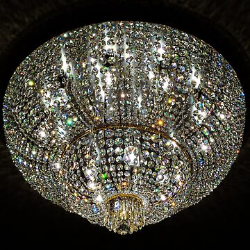 Rainbow crystal chandelier by SiliconValleyUS