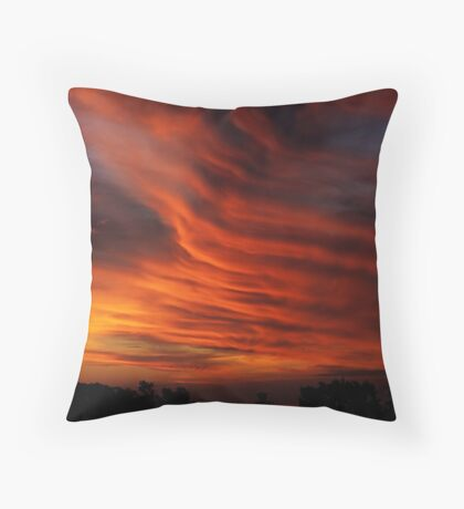 My Backyard Throw Pillow