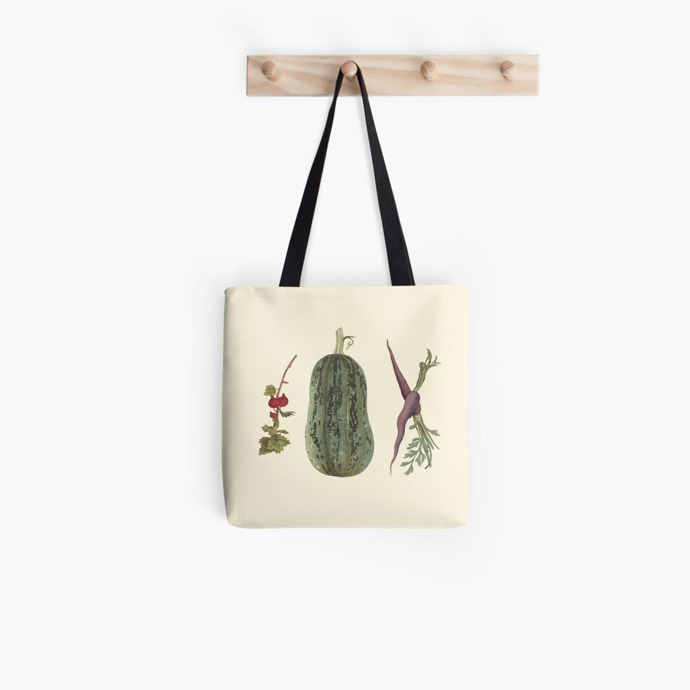 Vegetable plate Tote Bag