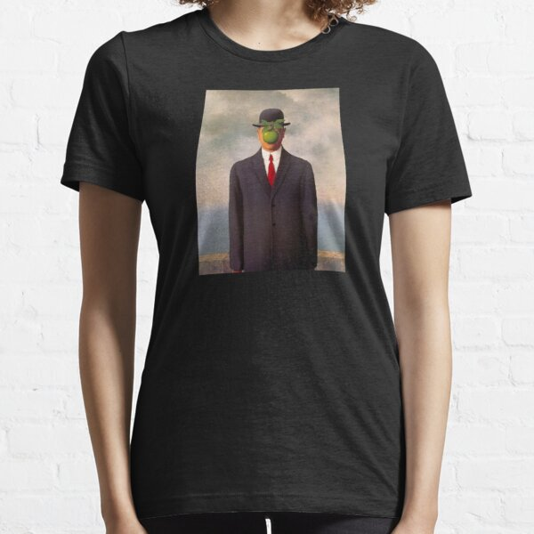 magritte surrealist art shirt Essential T-Shirt