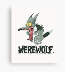 Werewolf Canvas Print