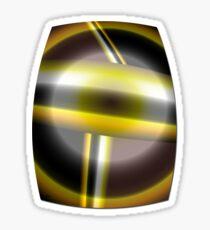 The Golden Knight Sticker