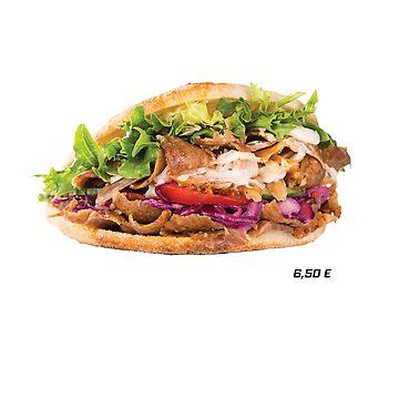 Kebab 6,50€ by DGTY
