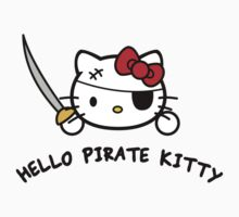 Hello Pirate Kitty (With Text)