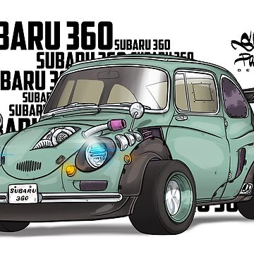 Custom subaru 360 by SprayPatrick