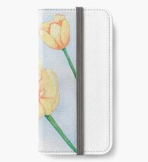 Tulips yellow iPhone Wallet/Case/Skin