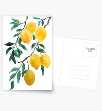 Postales limón amarillo 2018
