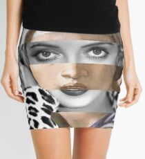 Michelangelo's Sybilla Delfica & Bette D Mini Skirt