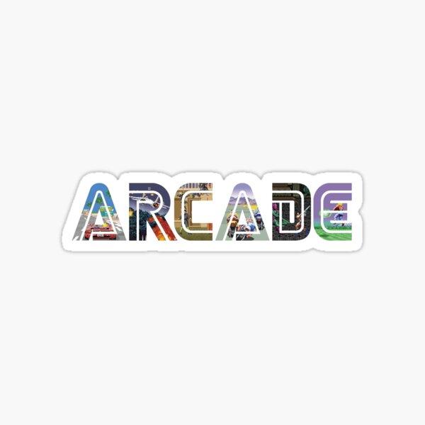 Arcade Classics Sticker