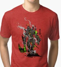 The Game of Kings, Wave Two: The Black King-Bishop's Pawn Tri-blend T-Shirt