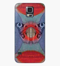 Mystic Wings - Red and Blue Case/Skin for Samsung Galaxy