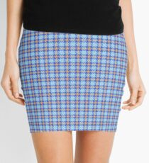 Custom melon Tartan design Mini Skirt