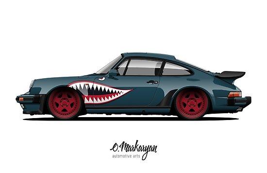 930 Turbo Shark Teeth edition by OlegMarkaryan