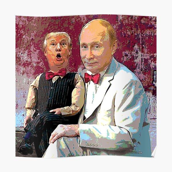 Trump & Putin Poster