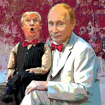 Trump & Putin by DivDesigns