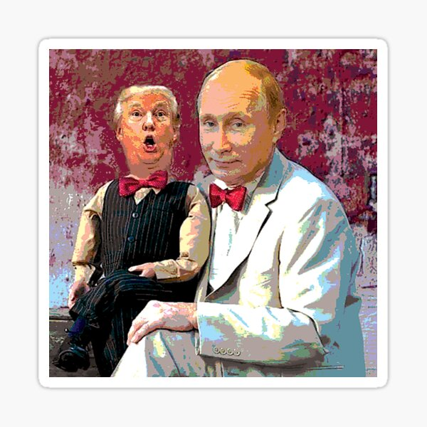 Trump & Putin Sticker