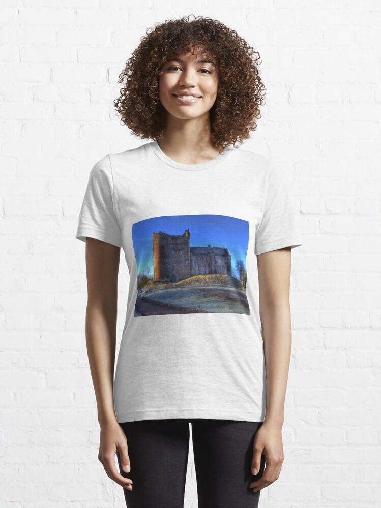 Alternate view of Doune Castle , Scotland Essential T-Shirt
