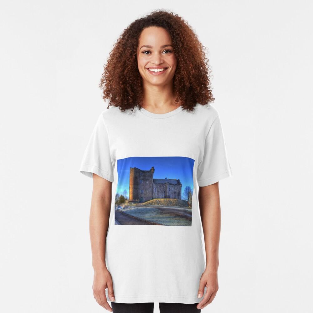 Doune Castle , Scotland Slim Fit T-Shirt