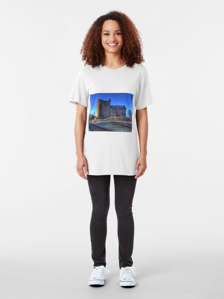 Alternate view of Doune Castle , Scotland Slim Fit T-Shirt
