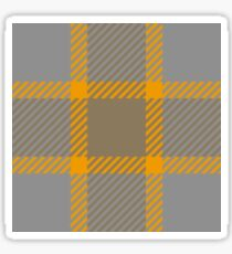 Custom navajo white Tartan design Sticker