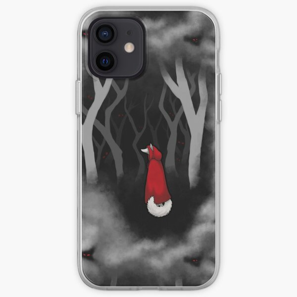 Little Red Riding Wolf - p2 iPhone Soft Case