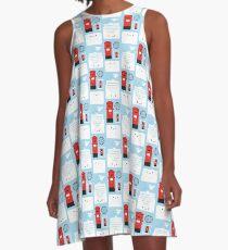 Happy Mail - Kawaii Post A-Line Dress