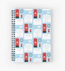 Happy Mail - Kawaii Post Spiral Notebook