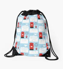 Happy Mail - Kawaii Post Drawstring Bag