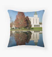 The Mormon Temple, Lingfield, Surrey Throw Pillow