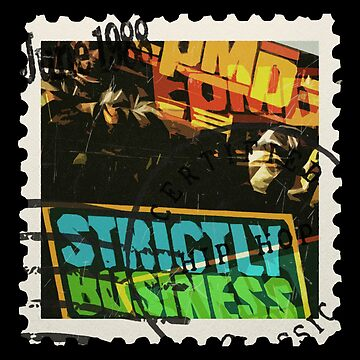 Old School Hip Hop Stamp EPMD by ocansey