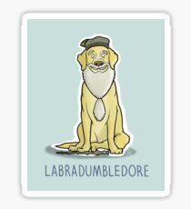 Labradumbledore Sticker