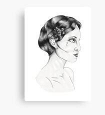 Woman Head  Canvas Print