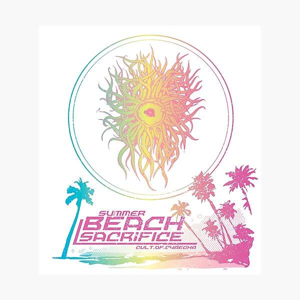 Summer Beach Sacrifice Photographic Print