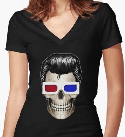 SCOPITONE MAN T-shirt col V femme