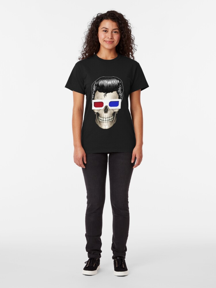 T-shirt classique ''SCOPITONE MAN': autre vue