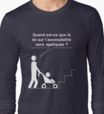 Accessible - Stroller Long Sleeve T-Shirt