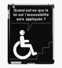Accessible - Armchair iPad Case/Skin