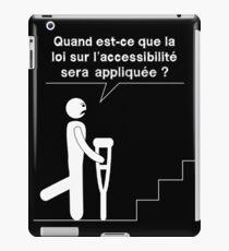 Accessible - Crutch iPad Case/Skin