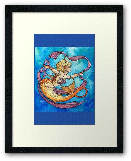 Mermaid Dancer by Quinton Hoover