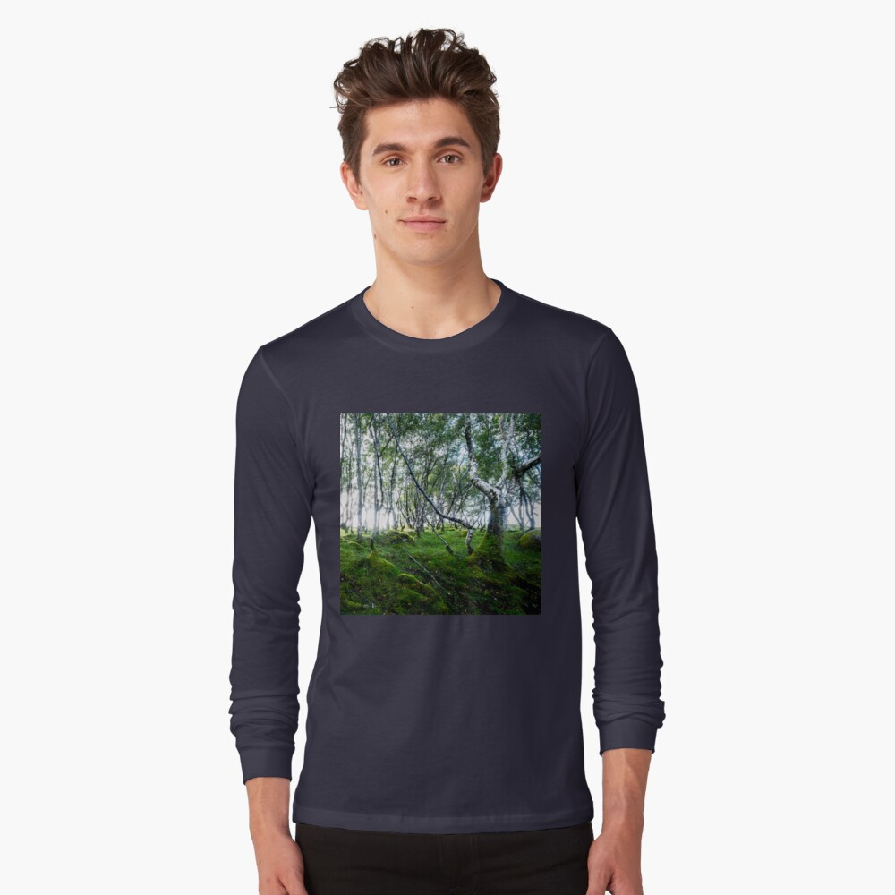 T-shirt manches longues «Green Forest»