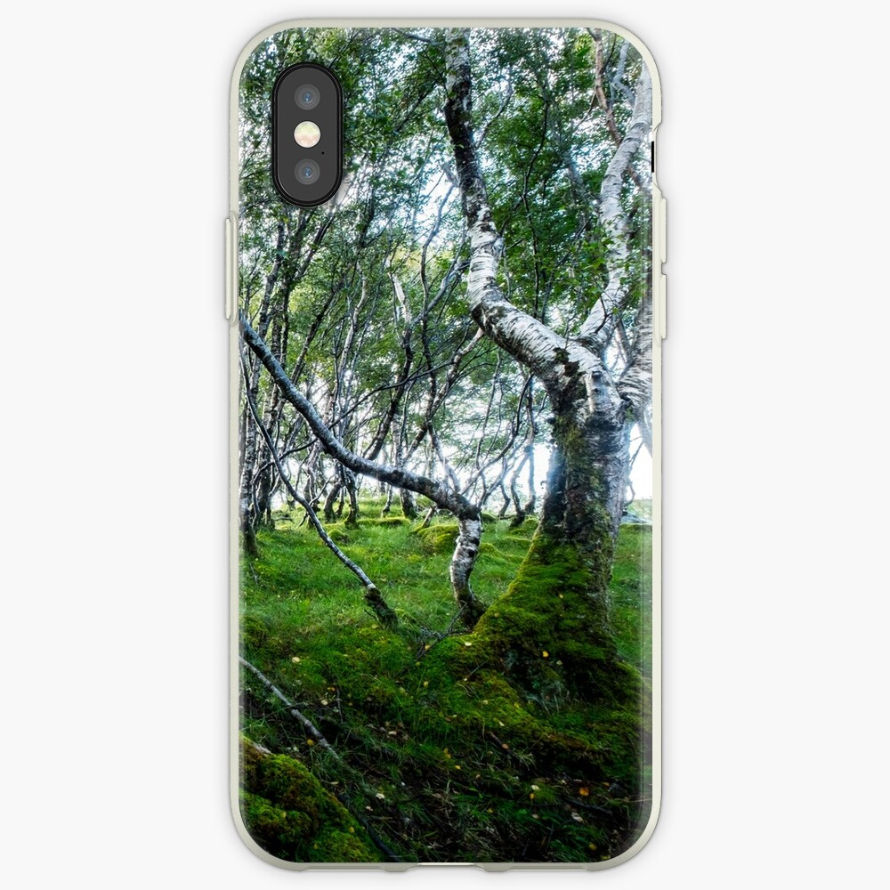 Coque iPhone « Green Forest»