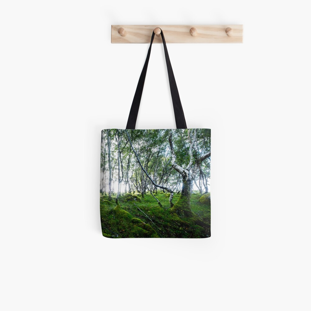Tote bag «Green Forest»