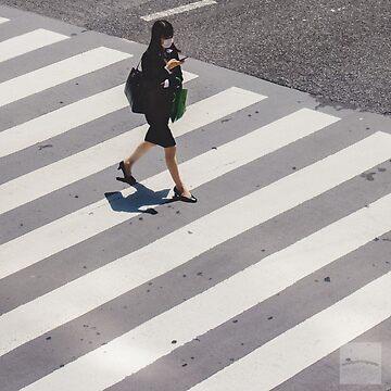 Lonely on Shibuya Crossing by scruffyjate
