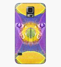 Mystic Wings - Purple and Gold Case/Skin for Samsung Galaxy
