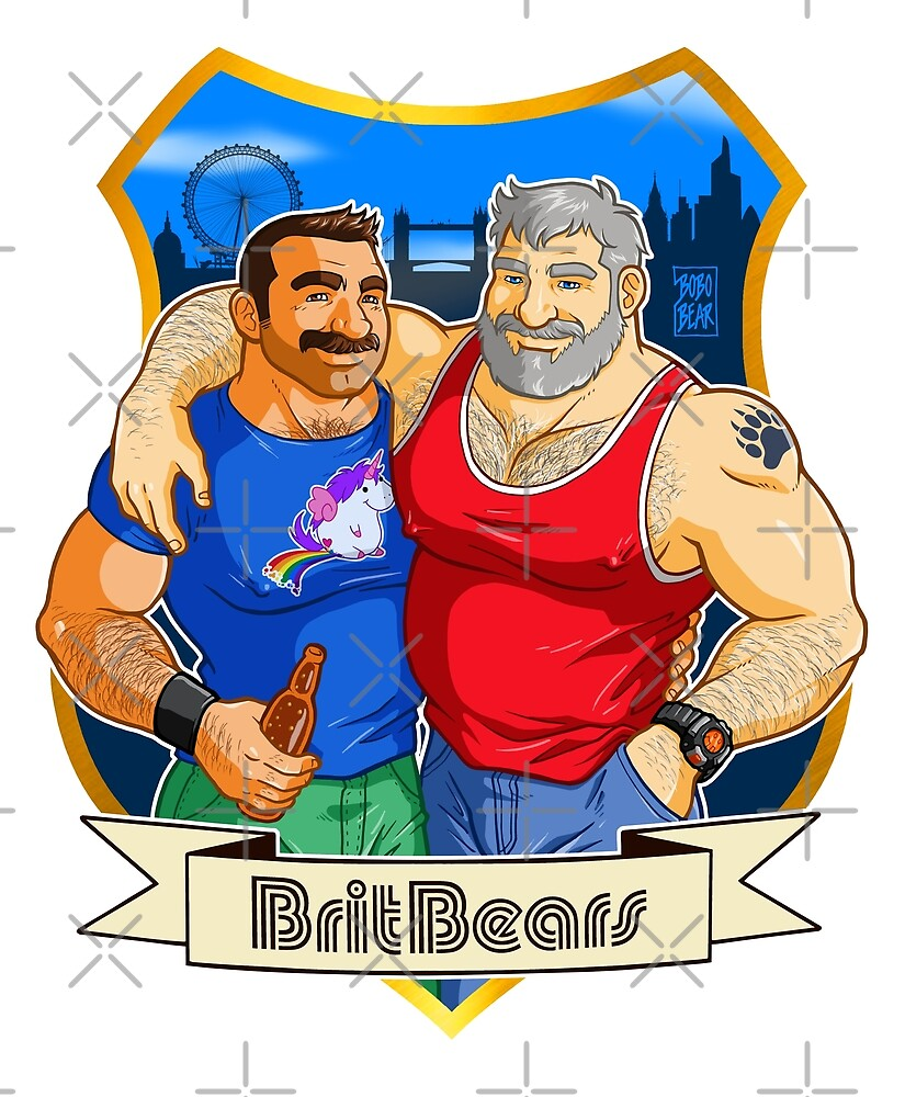 BRITBEARS - Official BritBears Member Design by bobobear